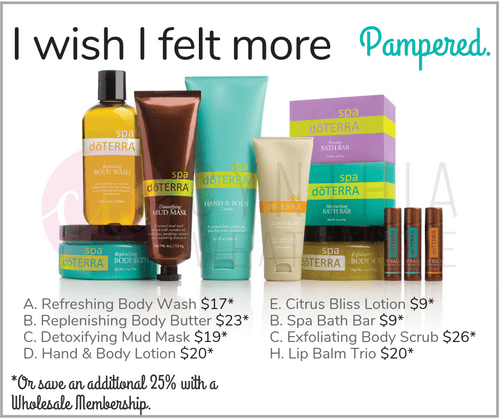 I wish I felt more Pampered