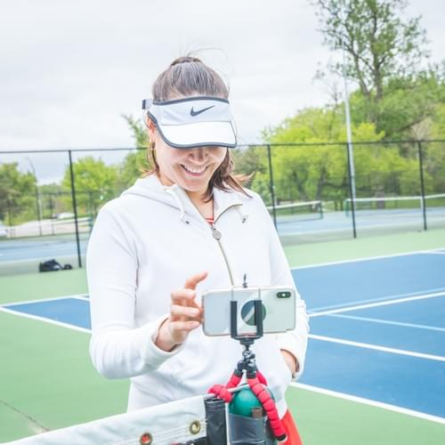 Tennis Phone Mount - Early adopter pricing