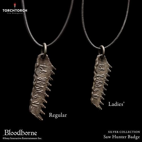 Bloodborne × TORCH TORCH/ SILVER COLLECTION: Saw Hunter Badge