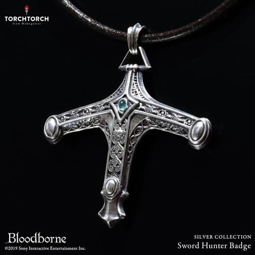 Bloodborne × TORCH TORCH/ SILVER COLLECTION: Sword Hunter Badge