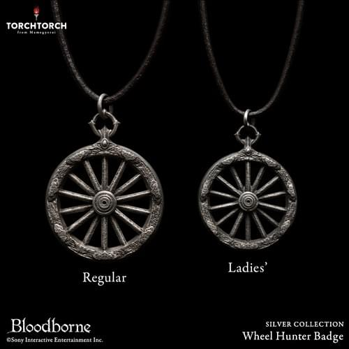 Bloodborne × TORCH TORCH/ SILVER COLLECTION: Wheel Hunter Badge