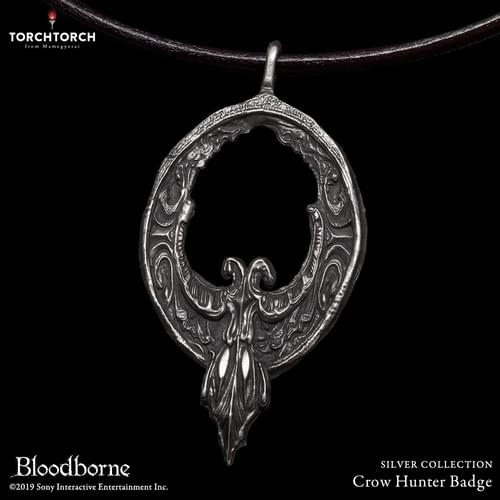 Bloodborne × TORCH TORCH/ SILVER COLLECTION: Crow Hunter Badge