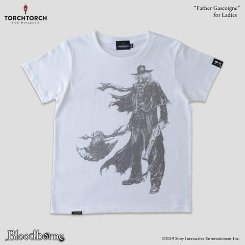 Bloodborne × TORCH TORCH T-Shirt Collection/ Father Gascoigne<Color: White>
