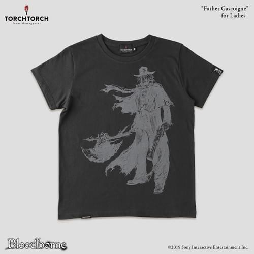 Bloodborne × TORCH TORCH T-Shirt Collection/ Father Gascoigne<Color: Ink Black>