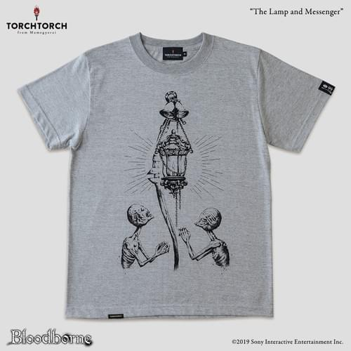 Bloodborne × TORCH TORCH T-Shirt Collection/ The Lamp and Messengers<Color: Heather Gray>