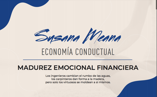 MADUREZ EMOCIONAL FINANCIERA