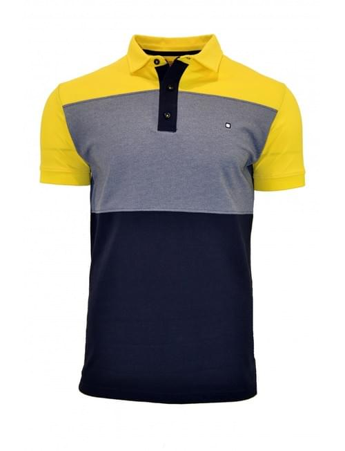 Polo Yellow Skin tricolor T/XL.