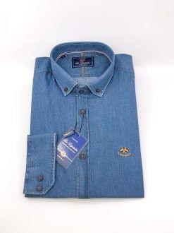 Camisa la Española vaquero claro