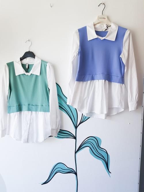 Blusa chaleco T/U