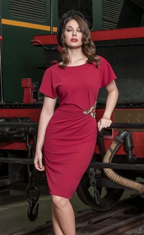 Vestido rojo Olimara