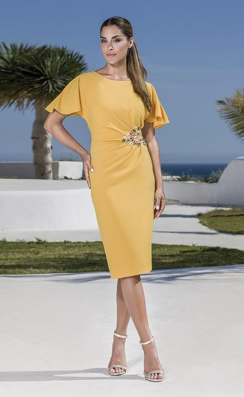 Vestido Olimara Verde 3120117