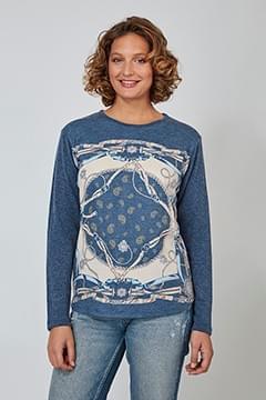 Jersey azul cadenas Mino Mora