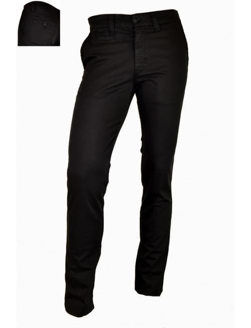 Pantalón negro Yellow Skin
