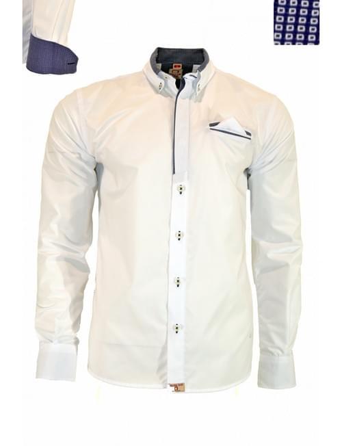 Camisa Yellow Skin blanca