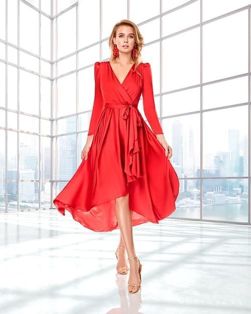 vestido Sonia Peña cruzado 22200009