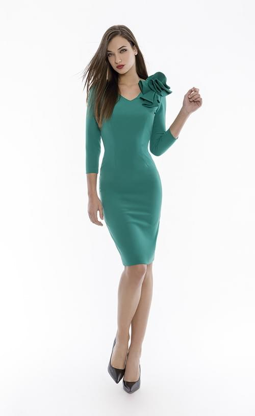 Vestido verde Olimara