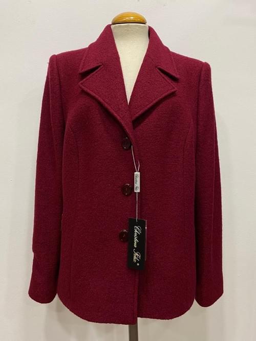 Chaqueta de lana fría Cristina Félix.
