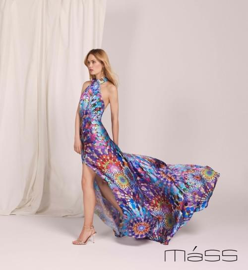Vestido Matilde Cano Multicolor T/40.  L611