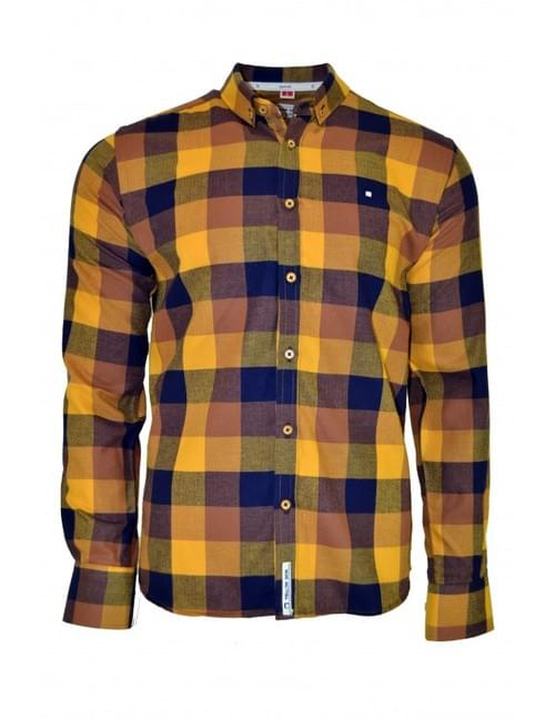 Camisa Yellow Skin cuadros