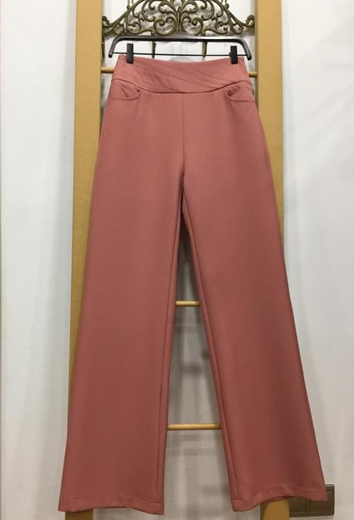 Pantalones anchos rosas. T/S-M.