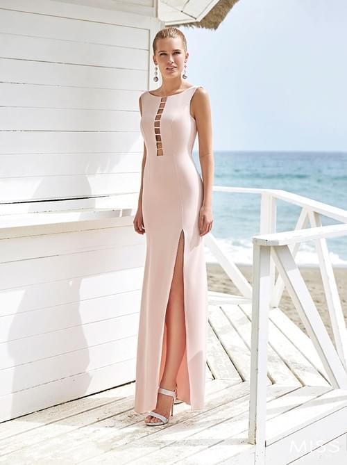 Vestido Sonia Peña Miss color Fresa T/38. 1203006