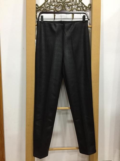 Pantalones estampados tipo leggins gruesos.