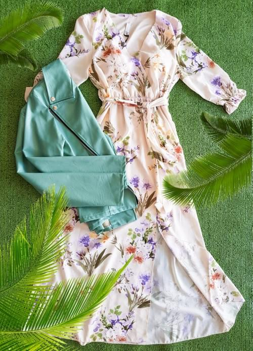 Vestido Flores  T/U