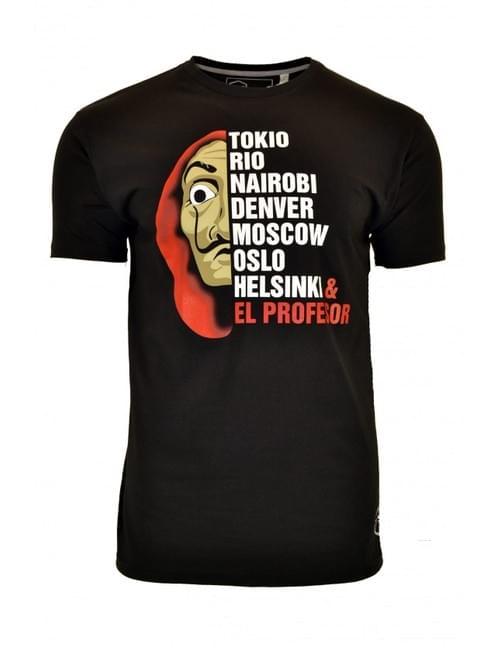 Camiseta Casa de Papel. T/L.