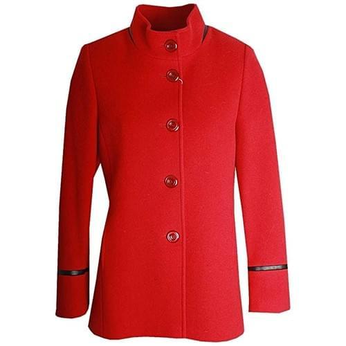 Abrigo rojo Christina Felix
