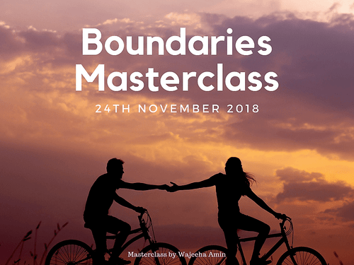 Boundaries Masterclasss