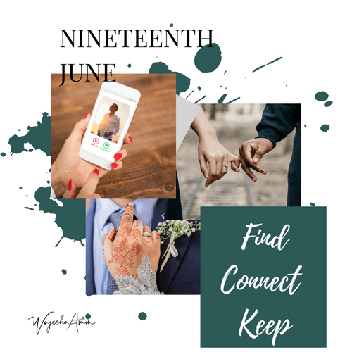 Find Connect Keep Online event 19th June