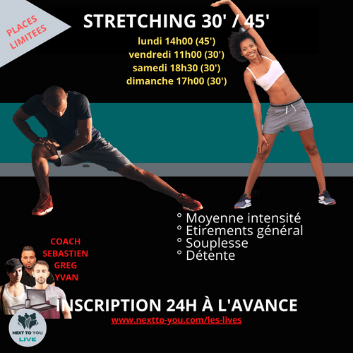 STRETCHING LIVE 30' / 45'