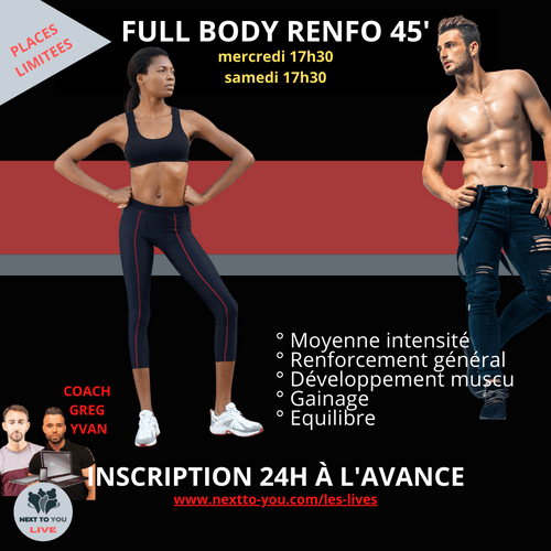 FULL BODY RENFO LIVE 45'