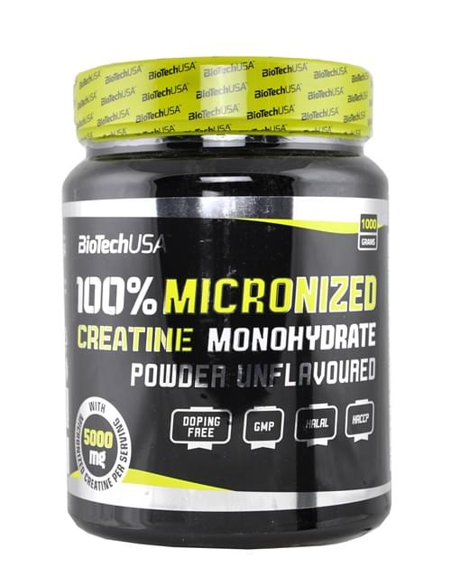 100% MICRONIZED CREATINE - BioTechUSA