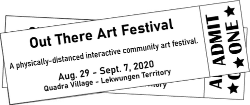Tickets to the Out There Art Festival