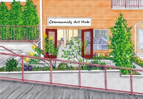 Help make our Community Art Hub a reality!