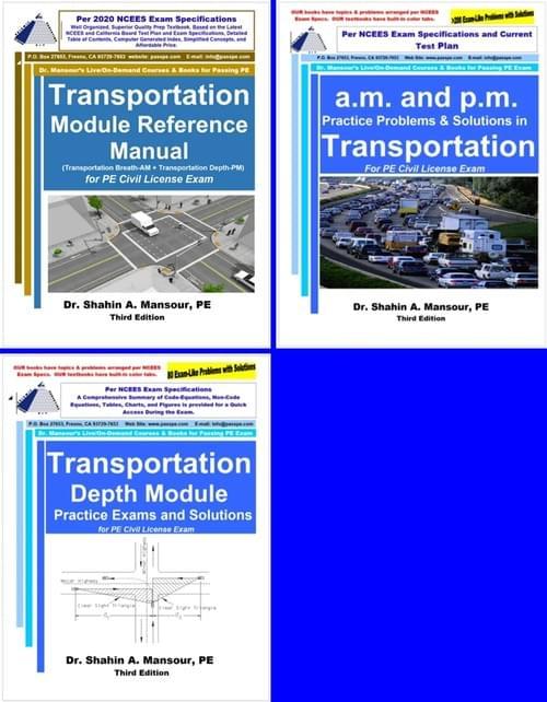 PE Civil Transportation Combo