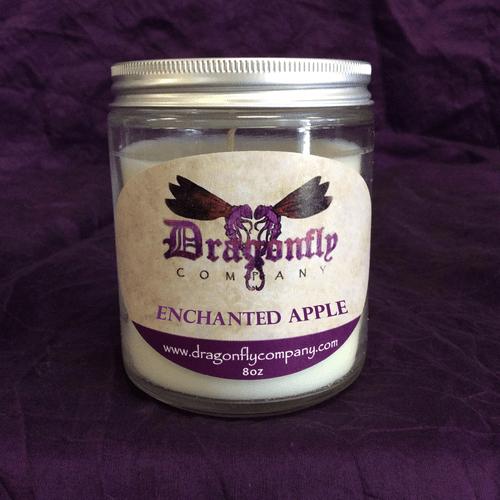 Enchanted Apple Candle