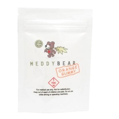 Meddy Bear Gummy Bears 100mg THC