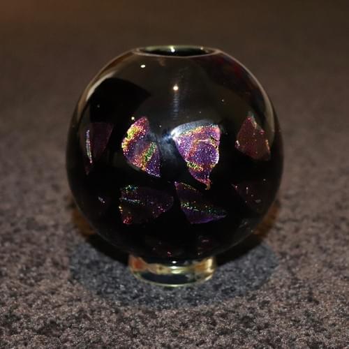 Dichroic Glass Vase