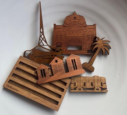 Mini Melbourne City Scape