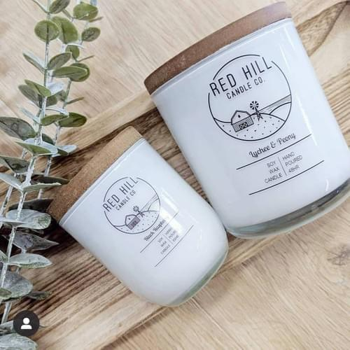 Large Handmade Soy Candles