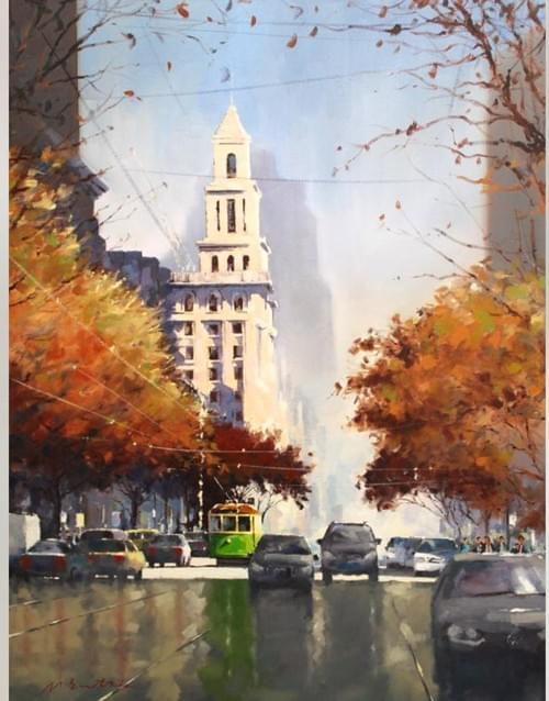Autumn Light Collins Street