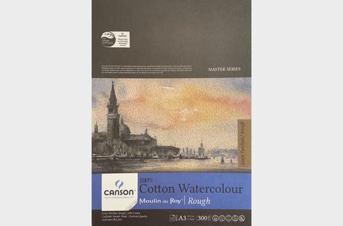 Canson Cotton Watercolour Paper