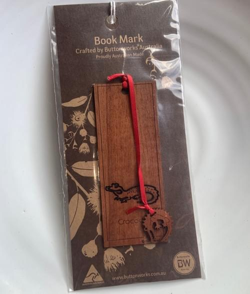 Crocodile Bookmark