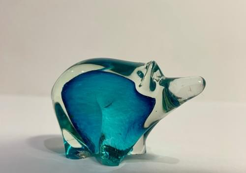 Glass Polar Bear