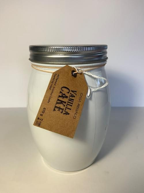 Vanilla Cake Candle