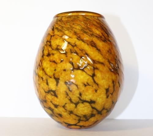 Black/Yellow Vase