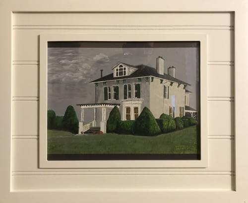 """Old House 22 x 18"""""""