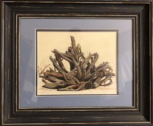 "Driftwood 18 x 15"""